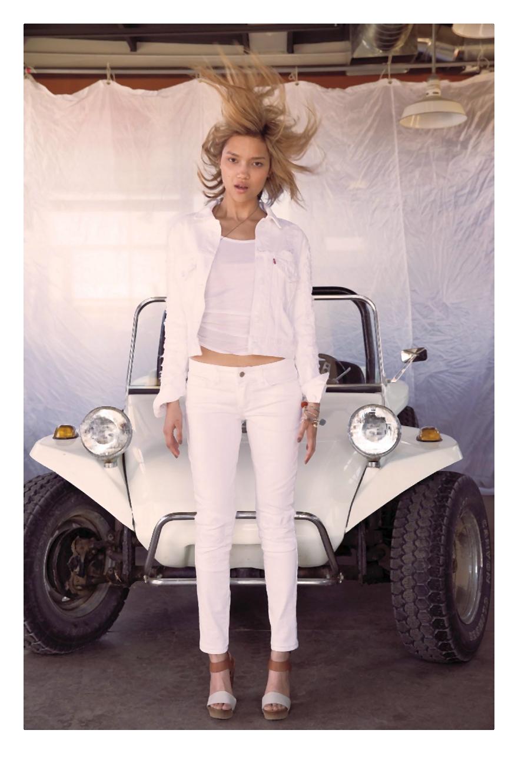 Moda na 2014 nonszalancki, kalifornijski look