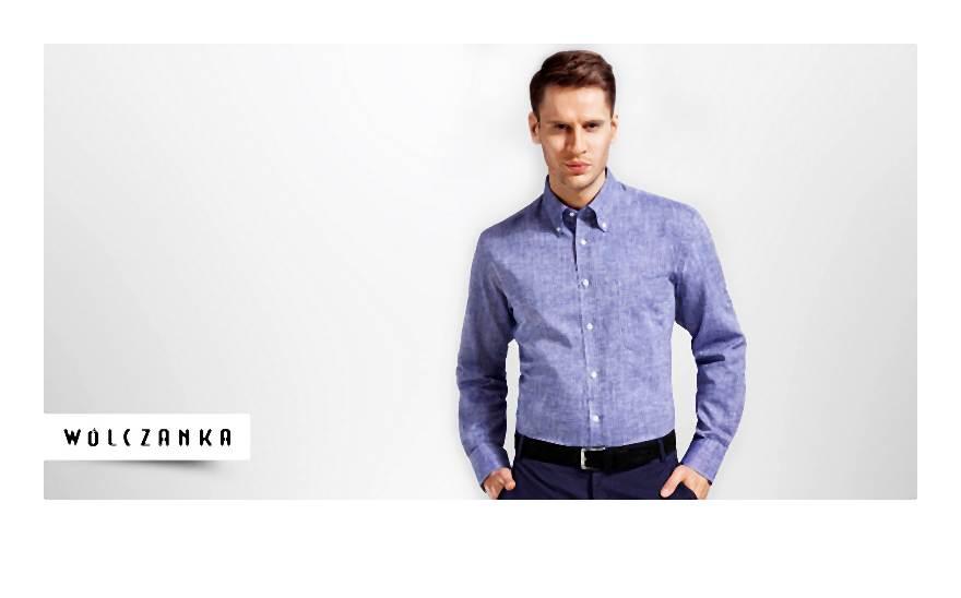 Linia męskich koszul i dodatków polecana najbardziej wymagającym klientom
