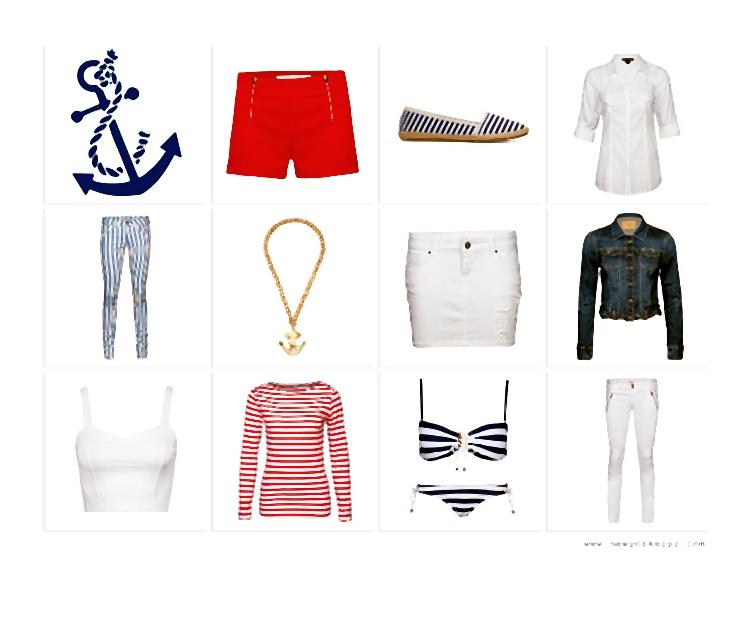 NEW YORKER // Marine Look ? Ahoi ?