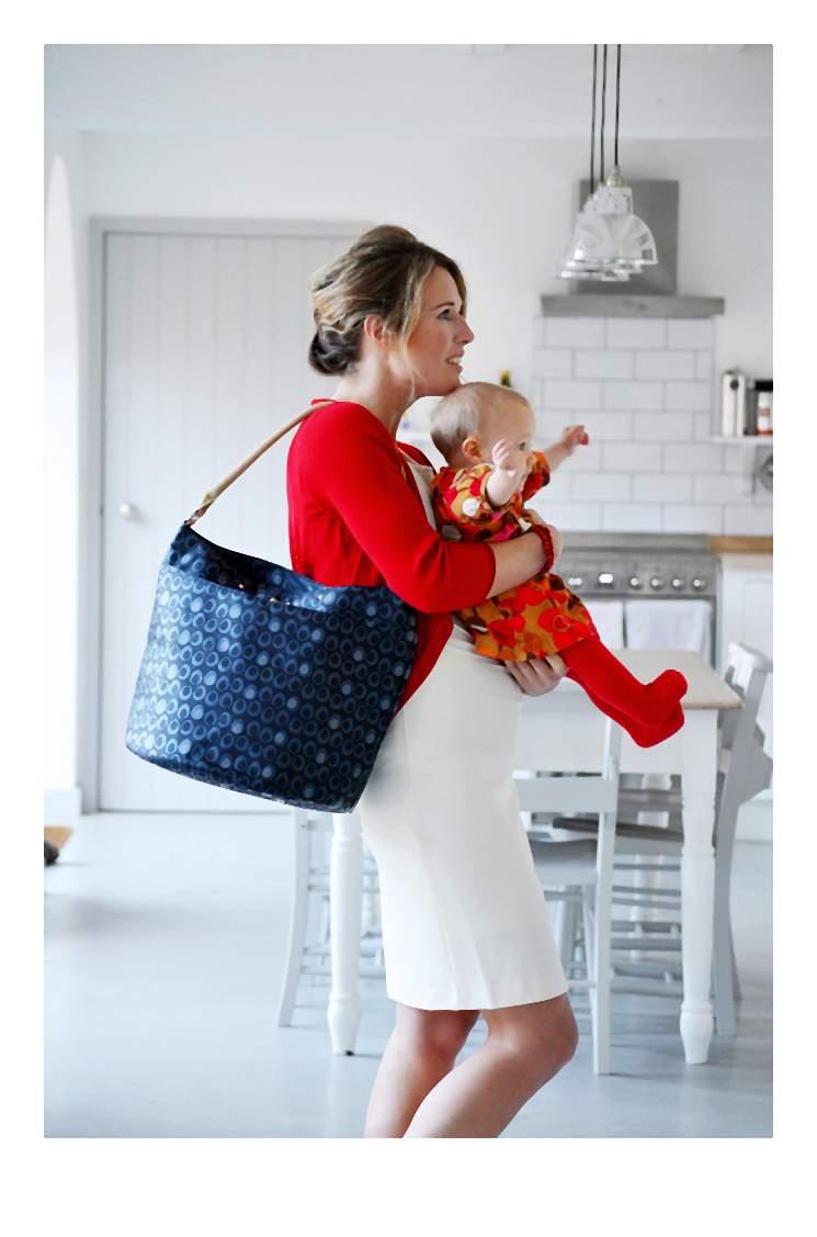 Stylowa torba dla młodej mamy