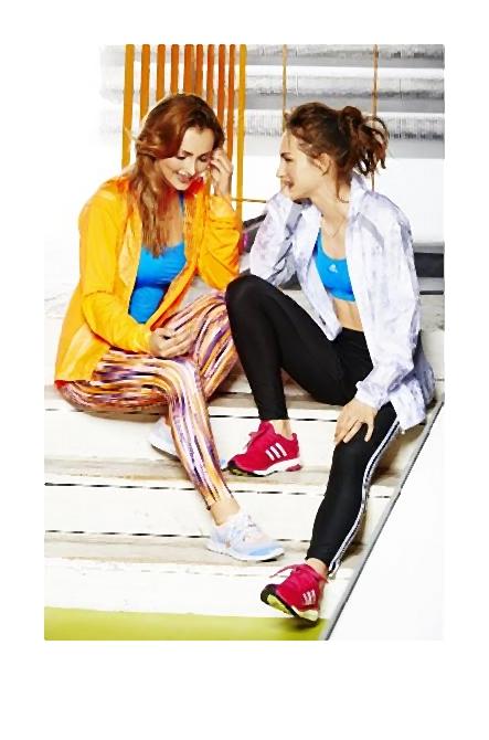 Kolekcja adidas Women wiosna/lato 2014 aby kobiety czuły się bardziej kobieco