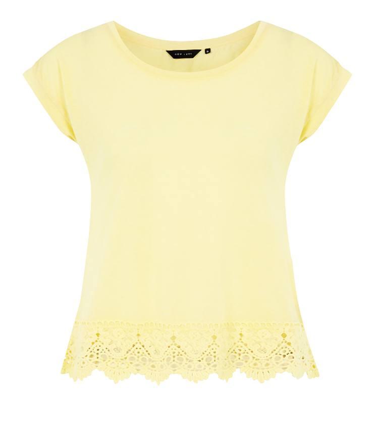 New_Look_Yellow Crochet Hem T-Shirt _9.99-008-2014-06-04 _ 12_05_52-80