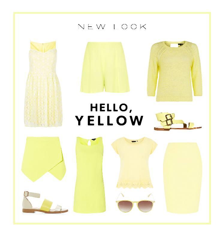 Intensywna żółć i soczysta limonka to najnowsze kolory tego sezonu.
