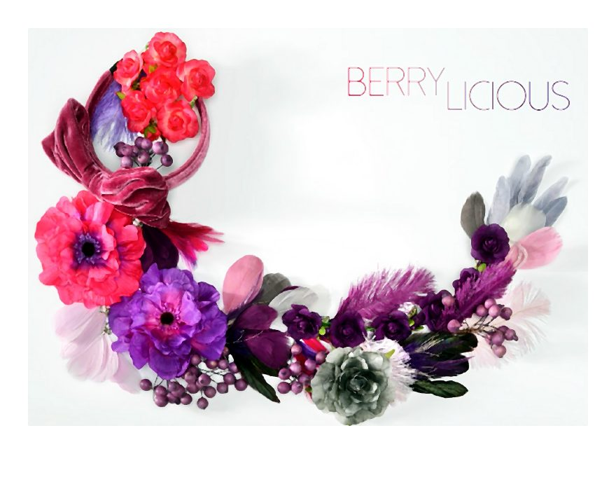 Berrylicious w istnie apetycznych kolorach to rodzaj boho i hippie