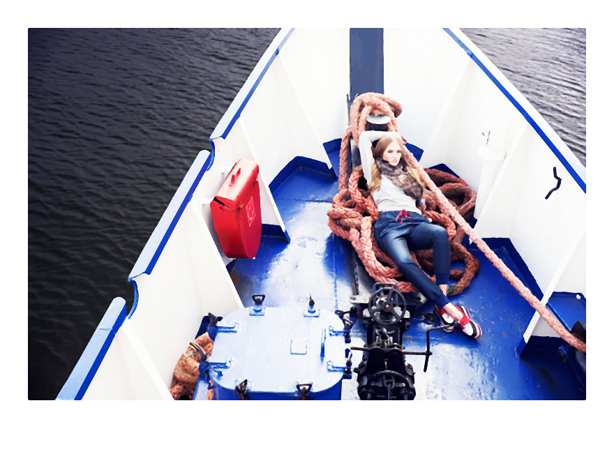 Sea Story – sesja wizerunkowa marki Horror!Horror!