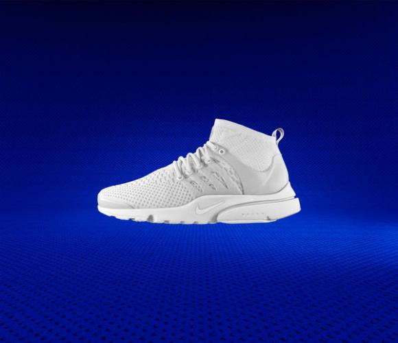 Nike Air Presto Ultra Flyknit - Powrót radości Moda, LIFESTYLE - Nike Air Presto, po raz pierwszy zaprezentowane w 2000 r., zyskały sławę dzięki nietypowej serii krótkich spotów reklamowych, uproszczonej rozmiarówce alpha sizing i nowoczesnej cholewce przypominającej drugą skórę.