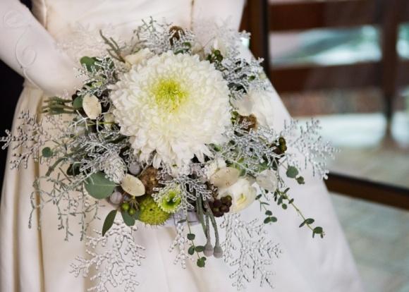 Zimowy bukiet ślubny? Chryzantemy są trendy!