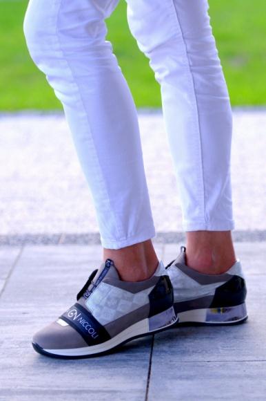 Futurystyczna kolekcja sneakersów od NIK Giatoma Niccoli Moda, LIFESTYLE - Lubelska firma NIK Giatoma Niccoli wypuściła właśnie nową kolekcję miejskich sneakersów. New city style to odważne modele, inspirowane trendami ze światowych wybiegów mody.